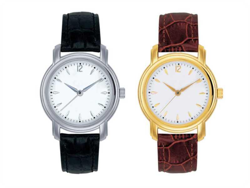 Часы наручные с логотипом компании